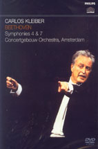 SYMPHONIES 4 & 7/ CARLOS KLEIBER
