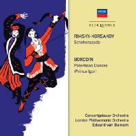 SCHEHERAZADE & POLOVTSIAN DANCES/ EDUARD VAN BEINUM [림스키 코르사코프: 세헤라자데 & 보로딘: 폴로베츠인의 춤 - 반 베이눔]