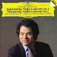 VIOLIN CONCERTOS/ ITZHAK PERLMAN, DANIEL BARENBOIM [생상스: 바이올린 협주곡 3번 & 비에냐프스키: 바이올린 협주곡 2번 - 펄만, 바렌보임]