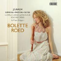 SONATAS, PARTITAS, SUITES - COMPLETE ARRANGEMENTS FOR SOLO RECORDER/ BOLETTE ROED [바흐: 무반주 바이올린 소나타와 파르티타, 무반주 첼로 모음곡 (리코더 편곡) - 볼레테 로에드]