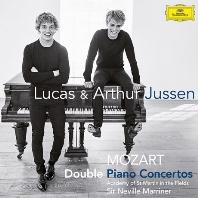 DOUBLE PIANO CONCERTOS/ LUCAS & ARTHUR JUSSEN, NEVILLE MARRINER [루카스 & 아르투르 유센: 모차르트 두 대의 피아노를 위한 협주곡]