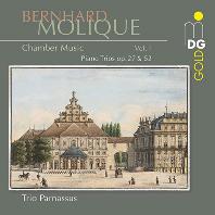 CHAMBER MUSIC VOL.1: PIANO TRIOS OP.27 & 52/ TRIO PARNASSUS [몰리크: 피아노 트리오 - 파르나수스 삼중주단]