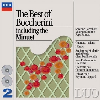 THE BEST OF BOCCHERINI [DECCA DUO] [보케리니: 베스트]