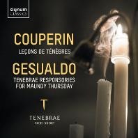 LECONS DE TENEBRES & TENEBRAE RESPONSORIES FOR MAUNDY THURSDAY/ TENEBNRAE [쿠프랭: 르송 드 테네브레 & 제수알도: 성 목요일을 위한 찬가]