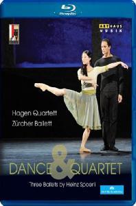 DANCE & QUARTET/ HAGEN QUARTETT, ZURCHER BALLETT [하인츠 슈푀얼리의 세 가지 발레]