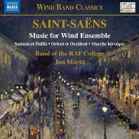 MUSIC FOR WIND ENSEMBLE/ ROYAL AIR FORCE COLLEGE BAND, JUN MARKL [생상스: 관악 합주를 위한 음악 -로열 에어포스 칼리지 밴드]