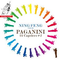 24 CAPRICES + 1/ NING FENG [파가니니: 무반주 바이올린 카프리스 - 닝 펑]