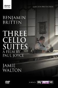 THREE SUITES FOR CELLO/ JAMIE WALTON