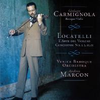 L'ARTE DEL VIOLINO/ GIULIANO CARMIGNOLA [로카텔리: 바이올린 예술 - 줄리아노 카르미뇰라]