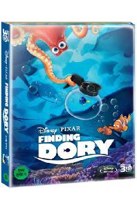 도리를 찾아서 3D+2D [스틸북 한정판] [FINDING DORY]