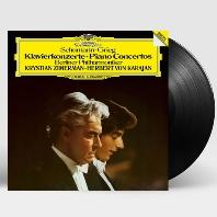 PIANO CONCERTOS/ KRYSTIAN ZIMERMAN, HERBERT VON KARAJAN [180G LP] [슈만 & 그리그: 피아노 협주곡 - 지메르만 & 카라얀]