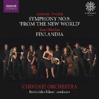SYMPHONY NO.9 'FROM THE NEW WORLD' & FINLANDIA/ KEVEN JOHN EDUSEI [드보르작: 교향곡 9번 & 시벨리우스: 핀란디아 - 치네케 오케스트라 & 에두세이]