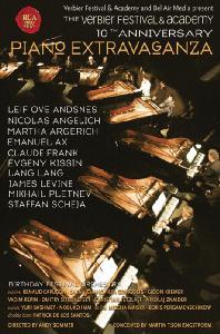 PIANO EXTRAVAGANZA: THE VERBIER FESTIVAL & ACADEMY 10TH ANNIVERSARY [피아노 엑스트라바간자: 베르비에 페스티벌 10주년 기념 콘서트]