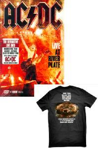LIVE AT RIVER PLATE [+T-SHIRT: SIZE L]