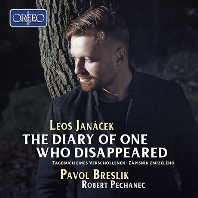 THE DIARY OF ONE WHO DISAPPEARED/ PAVOL BRESLIK, ROBERT PECHANEC [야나체크: 사라진 자의 일기 - 파볼 브레슬리크]
