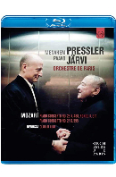 PIANO CONCERTOS & CLAIR DE LUNE/ MENAHEM PRESSLER, PAAVO JARVI [모차르트: 피아노협주곡 & 드뷔시: 월광 - 프레슬러, 예르비]