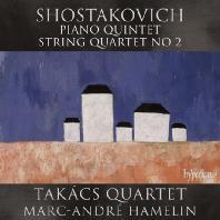 PIANO QUINTET & STRING QUARTET NO.2/ TAKACS QUARTET, MARC-ANDRE HAMELIN [쇼스타코비치: 피아노 오중주, 현악 사중주]