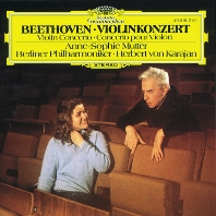 VIOLIN CONCERTO/ ANNE-SOPHIE MUTTER, HERBERT VON KARAJAN [베토벤: 바이올린 협주곡 - 무터, 카라얀]