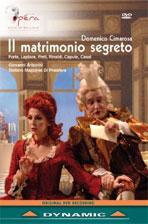 IL MATRIMONIO SEGRETO/ GIOVANNI ANTONINI [치마로사: 비밀결혼]