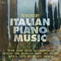 20TH CENTURY ITALIAN PIANO MUSIC [20세기 이탈리아 피아노 작품집]