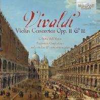 VIOLIN CONCERTOS OPP.11 & 12/ L'ARTE DELL'ARCO, FEDERICO GUGLIELMO [비발디: 바이올린 협주곡]