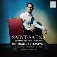 PIANO CONCERTOS NOS.2 & 5/ BERTRAND CHAMAYOU, EMMANUEL KRIVINE [생상스: 피아노 협주곡 2, 5번 - 샤마유]