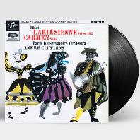 L`ARLESIENNE 1 & 2, CARMEN SUITE/ ANDRE CLUYTENS [비제: 아를의 여인 & 카르멘 모음곡 - 클뤼탕스] [LP]
