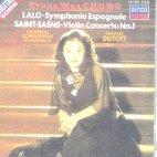 SYMPHONY ESPAGNOLE & VIOLIN CONCERTO/ KYUNG-WHA CHUNG, CHARLES DUTOIT [랄로: 스페인 교향곡 & 생상스: 바이올린 협주곡 - 정경화, 뒤트와]