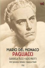 PAGLIACCI/ DEL MONACO/ TUCCI/ PROTTI/ MORELLI 1961