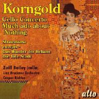 코른골트: 첼로 협주곡, 헛소동 모음곡