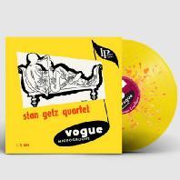 STAN GETZ QUARTET - STAN GETZ QUARTET [YELLOW & ORANGE SPLATTER LP]*