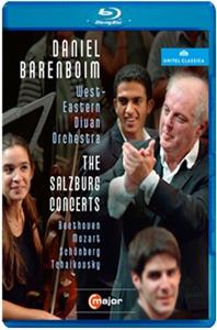 THE SALZBURG CONCERTS/ DANIEL BARENBOIM [2007년 잘츠부르크 콘서트] [블루레이 전용플레이어 사용]
