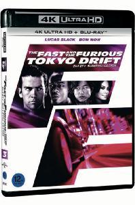 분노의 질주 3: 패스트&퓨리어스 - 도쿄 드리프트 [4K UHD+BD] [THE FAST AND THE FURIOUS: TOKYO DRIFT]