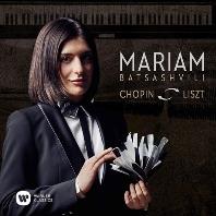 PIANO WORKS/ MARIAM BATSASHVILI [리스트 & 쇼팽: 작품집 마리암 바차슈빌리]