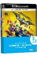 레고 배트맨 무비+레고 닌자고 무비 [4K UHD+BD] [더블팩 프로모션] [THE LEGO BATMAN+NINJAGO MOVIE]