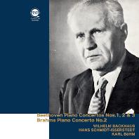 PIANO CONCERTOS/ WILHELM BACKHAUS, HANS SCHMIDT-ISSERSTEDT, KARL BOHM [베토벤: 피아노 협주곡 1-3번, 브람스: 피아노 협주곡 2번 - 박하우스, 이세르슈테트, 칼 뵘]