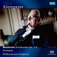 SYMPHONIES NOS.1-9 & OVERTURES/ OTTO KLEMPERER [SACD HYBRID] [베토벤: 교향곡 전곡, 서곡집 - 오토 클렘페러]