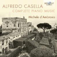 COMPLETE PIANO MUSIC/ MICHELE D'AMBROSIO [카셀라: 피아노 작품 전집]