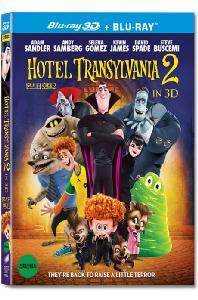 몬스터 호텔 2 [3D+2D] [슬립케이스 한정판] [HOTEL TRANSYLVANIA 2]