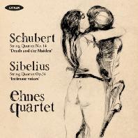 STRING QUARTETS/ EHNES QUARTET, RICHARD YONGJAE O'NEILL [슈베르트: 현악사중주 <죽음과 소녀> & 시벨리우스: 내밀한 목소리 - 에네스 콰르텟, 용재오닐]