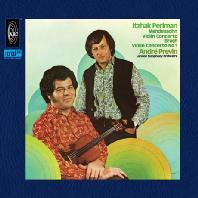 VIOLIN CONCERTOS/ ITZHAK PERLMAN, ANDRE PREVIN [XRCD] [멘델스존 & 브루흐: 바이올린 협주곡 - 펄만 & 프레빈]