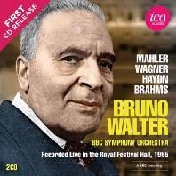 MAHLER, WAGNER, HAYDN, BRAHMS: BBC RECORDINGS [브루노 발터: 말러, 바그너, 하이든, 브람스]