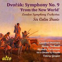 SYMPHONY NO.9 FROM THE NEW WORLD & HAYDN VARIATIONS/ COLIN DAVIS, VALERY GERGIEV [드보르작: 교향곡 9번 & 브람스: 하이든 주제 변주곡 - 데이비스, 게르기예프]