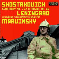 SYMPHONY NO.7/ YEVGENY MRAVINSKY [쇼스타코비치: 교향곡 7번 <레닌그라드>  므라빈스키]