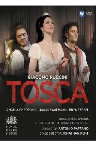 TOSCA/ <!HS>ANGELA<!HE> GHEORGHIU, JONAS KAUFMANN, BRYN TERFEL, ANTONIO PAPPANO [푸치니: 토스카]
