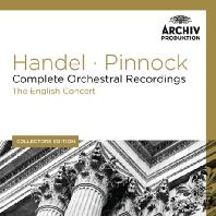 COMPLETE ORCHESTRAL RECORDINGS/ THE ENGLISH CONCERT, TREVOR PINNOCK [COLLECTORS EDITION] [헨델: 관현악 녹음 전집]