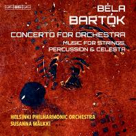 CONCERTO FOR ORCHESTRA/ SUSANNA MALKKI [SACD HYBRID] [바르톡: 관현악을 위한 협주곡, 현과 타악기와 첼레스타를 위한 음악]