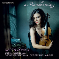A PIAZZOLLA TRILOGY/ KAREN GOMYO, STEPHANIE JONES [SACD HYBRID] [피아졸라: 부에노스 아이레스의 사계절, 탱고 연습곡, 탱고의 역사 - 카렌 고묘]
