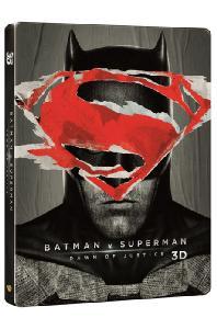 (3D+2D스틸북)배트맨 대 슈퍼맨: 저스티스의 시작 [3D+2D] [스틸북 한정판] [BATMAN V SUPERMAN: DAWN OF JUSTICE]