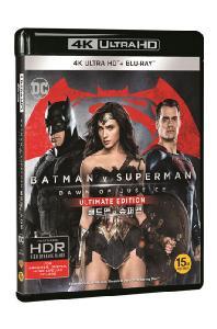 (4KUHD+2D)배트맨 대 슈퍼맨: 저스티스의 시작 U.E [4K UHD+2D] [한정판] [BATMAN V SUPERMAN: DAWN OF JUSTICE]